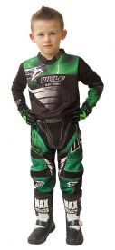 Wulfsport Kids Cub Forte Green MX Top & Pants